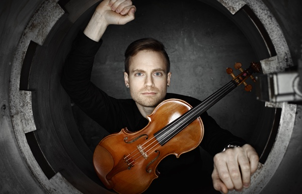 Violinist Marc Djokic performs in Cecelia Concerts 30th anniversary season