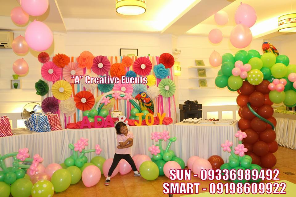 Safari Chic Theme Birthday Party Davao City