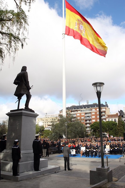 Estatua a Blas de Lezo en la Plaza de Colón en Madrid - Foto de Borja Fotógrafos sacada de la página Web de la Casa de SM el Rey (casareal.es) - ÁlvaroGP