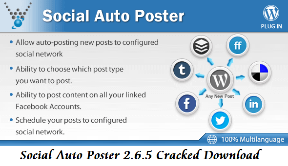 Social Auto Poster 2.6.5 Cracked Download