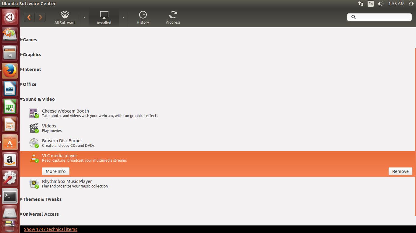 installez vlc linux ubuntu