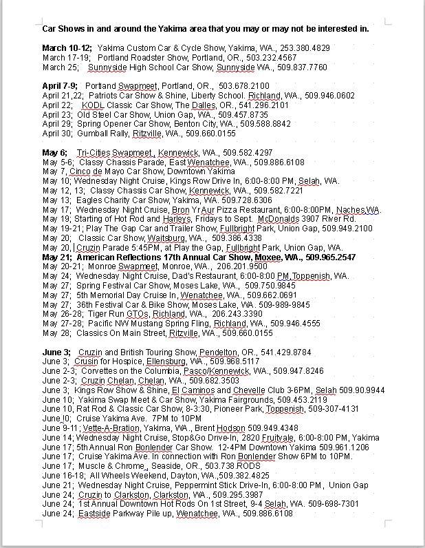 Dorable Car Rally List Frieze - Classic Cars Ideas - boiq.info
