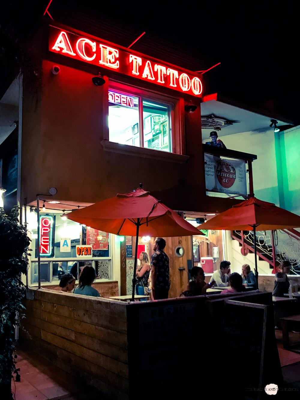 Mike's Taco Club Ocean Beach