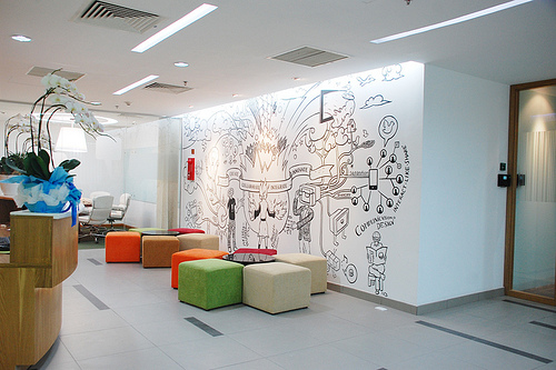 Fine Office Wall Design Ideas For On Graphic Of S In