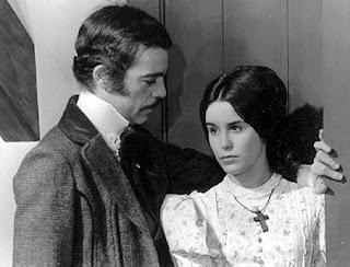 Rubens de Falco e Lucélia Santos - novela Escrava Isaura - 1977 - Rede Globo