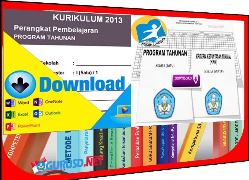 Prota Dan Promes Kelas 1 Sd Kurikulum 2013 Revisi Tahun 2016 Kurikulum 2013 Revisi
