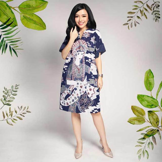 Model Baju Terbaru Wanita Bercorak Batik