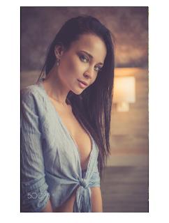 A beleza no olhar da modelo Angelina Petrova