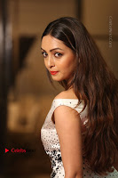 Actress Pooja Salvi Stills in White Dress at SIIMA Short Film Awards 2017 .COM 0141.JPG