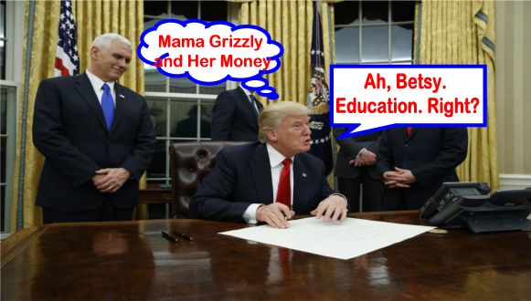 Betsy Devos Nomination Chilling >> Big Education Ape What Trump Said When He Signed The Executive