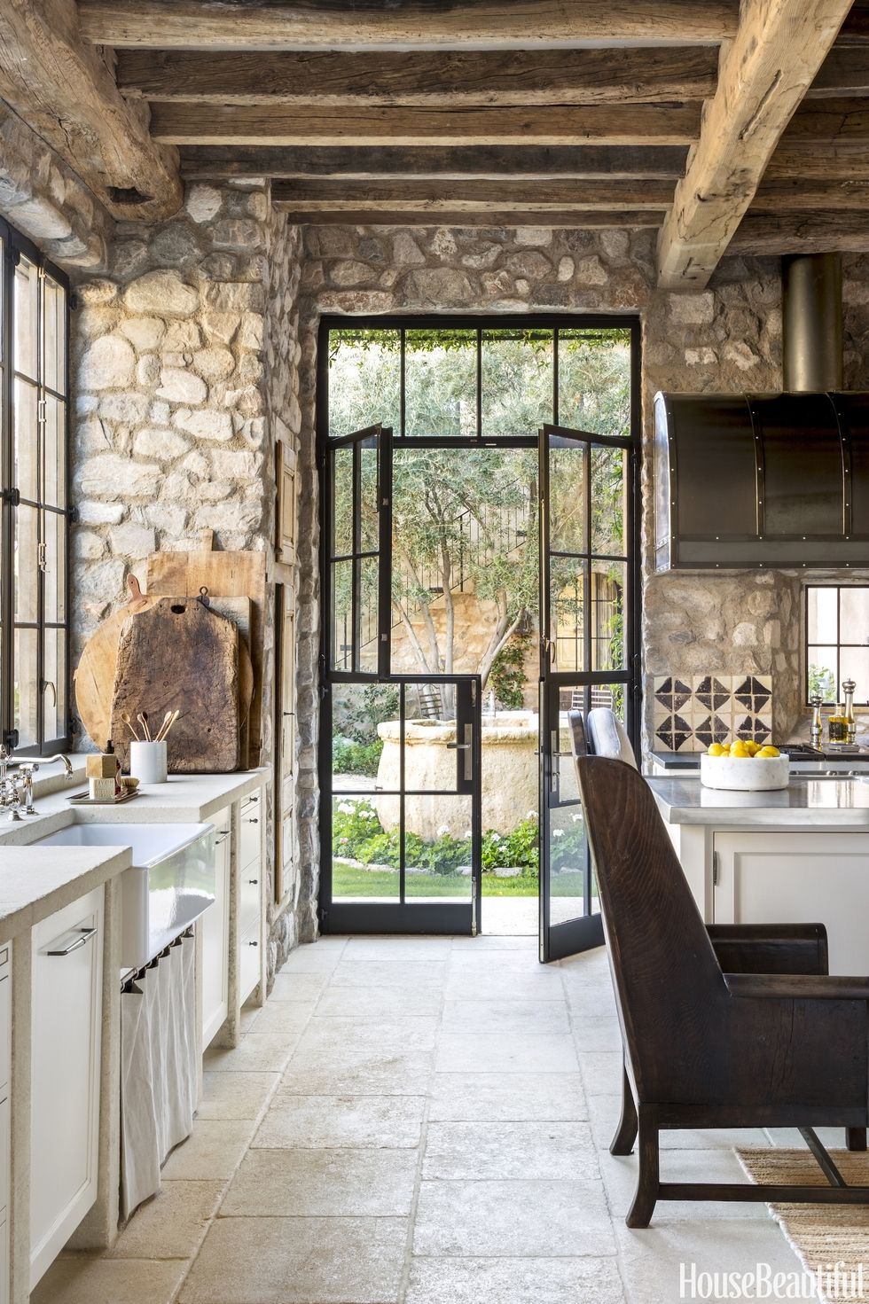 Scottsdale arizona rustic french country kitchen content House beautiful com kitchens