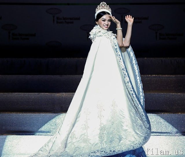 Philippines' Kylie Verzosa wins Miss International 2016