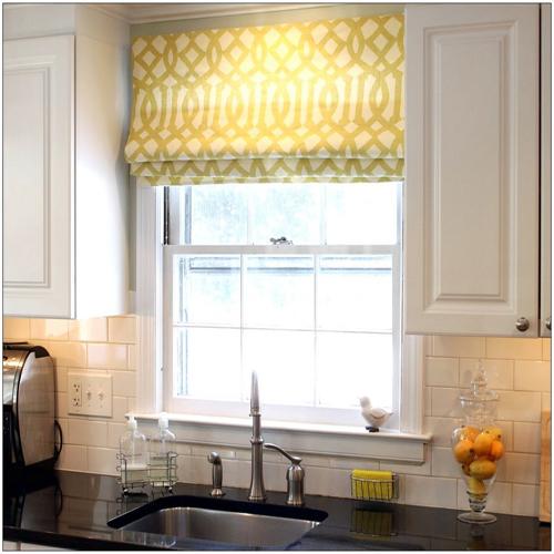 Hiasan Dapur Dengan Idea Rekaan Langsir Yang Pelbagai