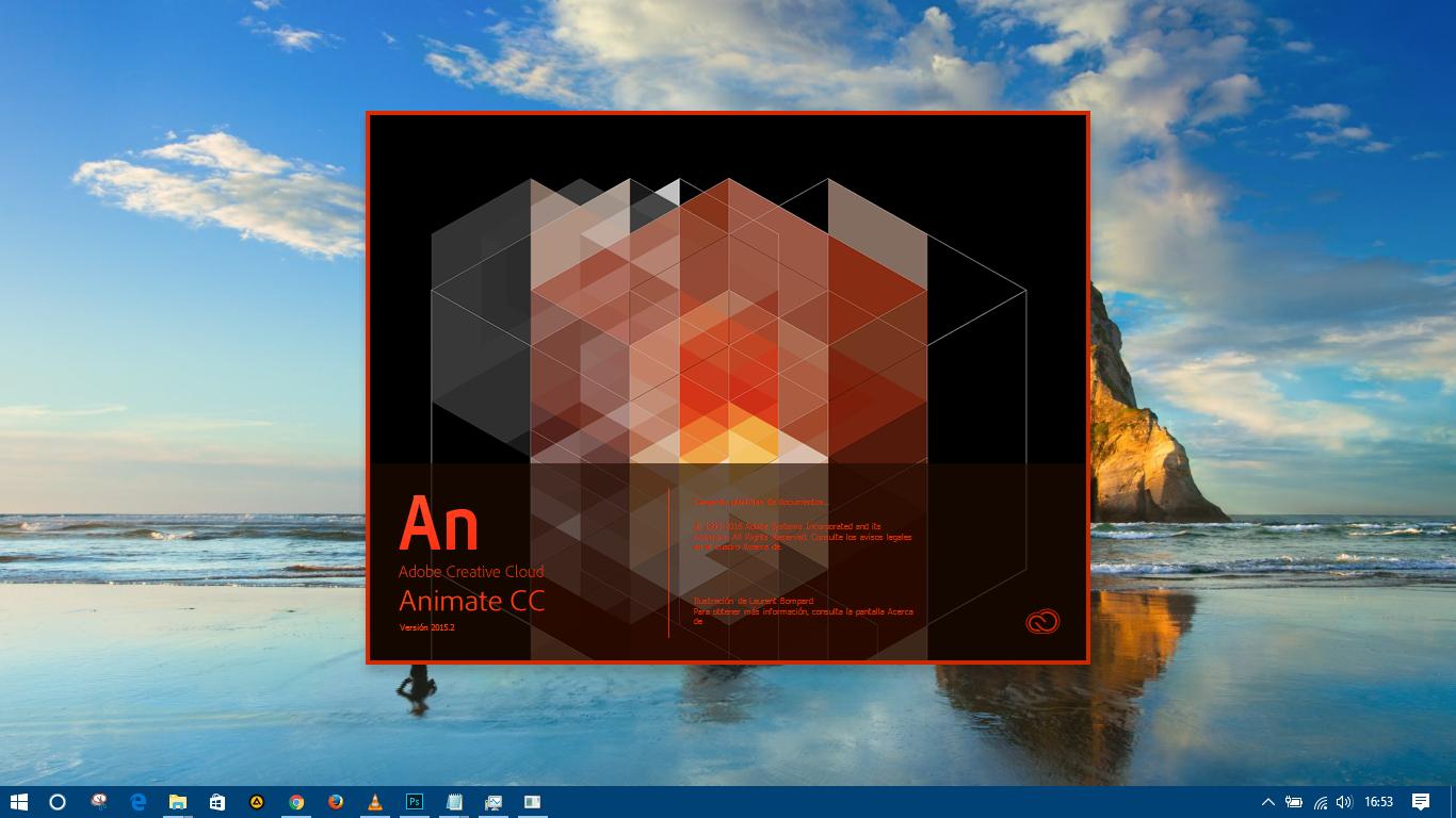 Descarga Adobe Animate CC 2015.2-version Portable Usb