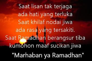 Gambar Kata Kata Ucapan Selamat Puasa Bulan Ramadhan