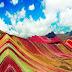 Una magestuosa montaña de 7 colores