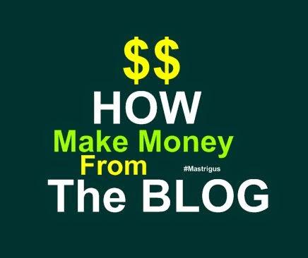 Ngeblog Agar Dapat Uang
