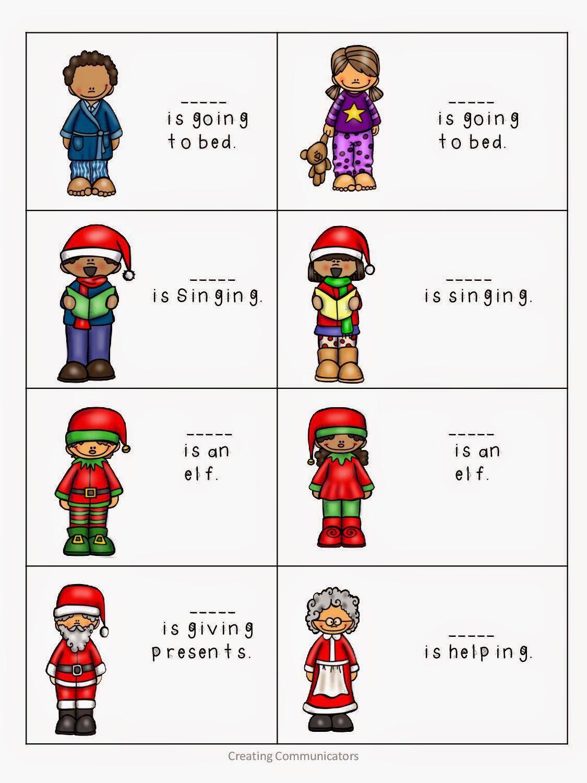 Creating Communicators Elf Language Activities