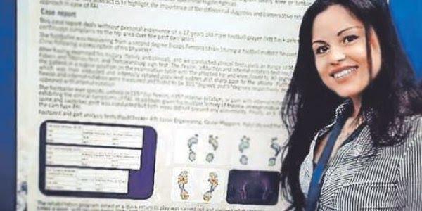H φυσικοθεραπεύτρια που βρέθηκε από την… Κοζάνη στο Γουέµπλεϊ