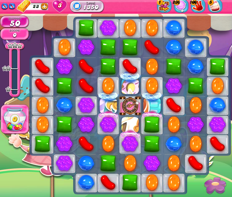 Candy Crush Saga 1350