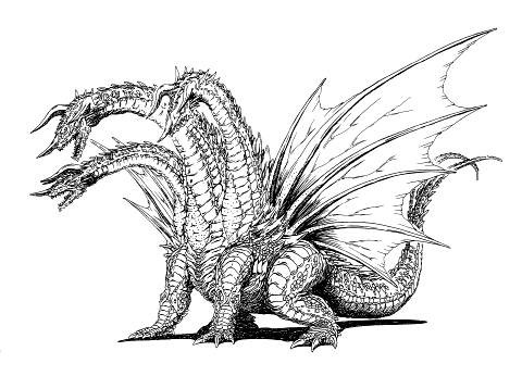 BLOOD WORK: KAIJUOLOGY: DESGHIDORAH