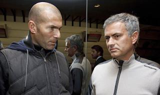 زيدان يهدد مورينيو على تدريب مانشستر يونايتد