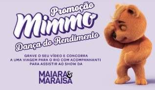 Promoção Mimmo Papel Higiênico Dança do Rendimento - Show Maiara e Maraisa
