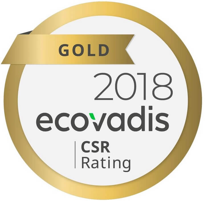 Epson Awarded with EcoVadis Gold Rating for Overall Sustainability