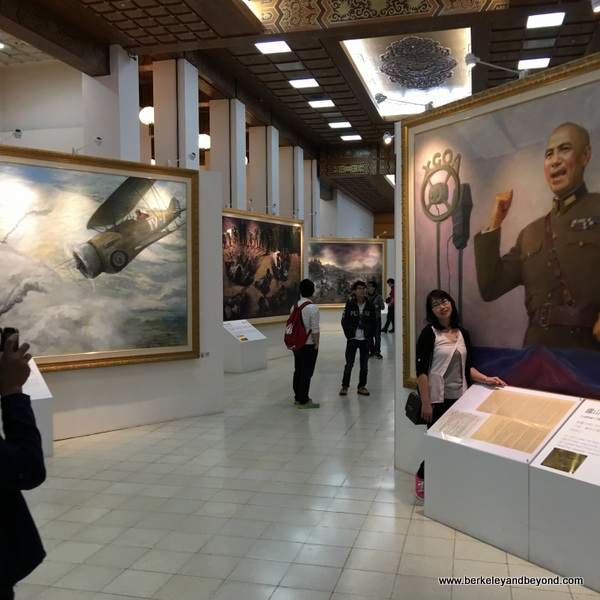 art museum at National Chiang Kai-shek Memorial Hall in Taipei, Taiwan