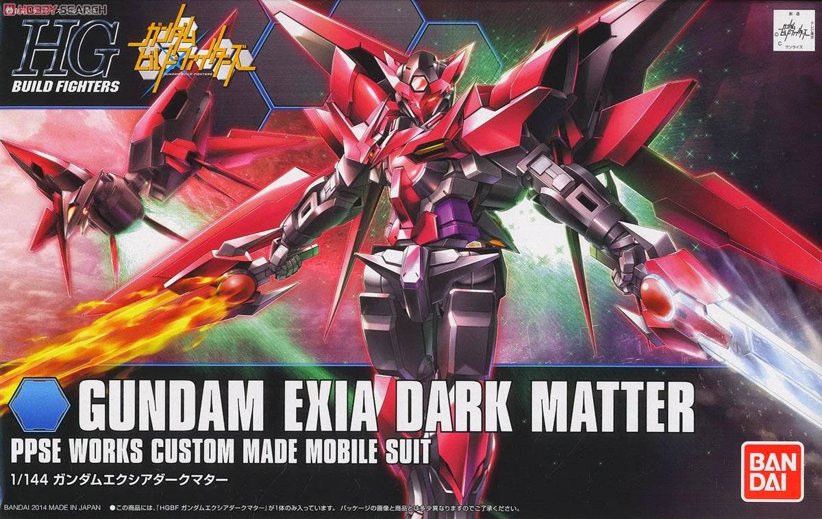 Gundam Gunso's Gundam Talk: GBF GUNDAM EXIA DARK MATTER HG 1/144