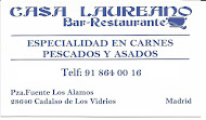 Bar Restaurante CASA LAUREANO