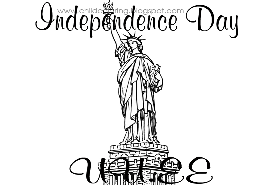 Independence Day Coloring ~ Child Coloring