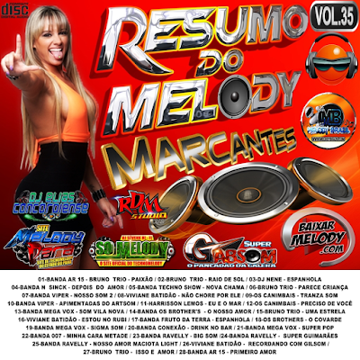 CD RESUMO DO MELODY VOL.35 MARCANTES / 02/04/2016