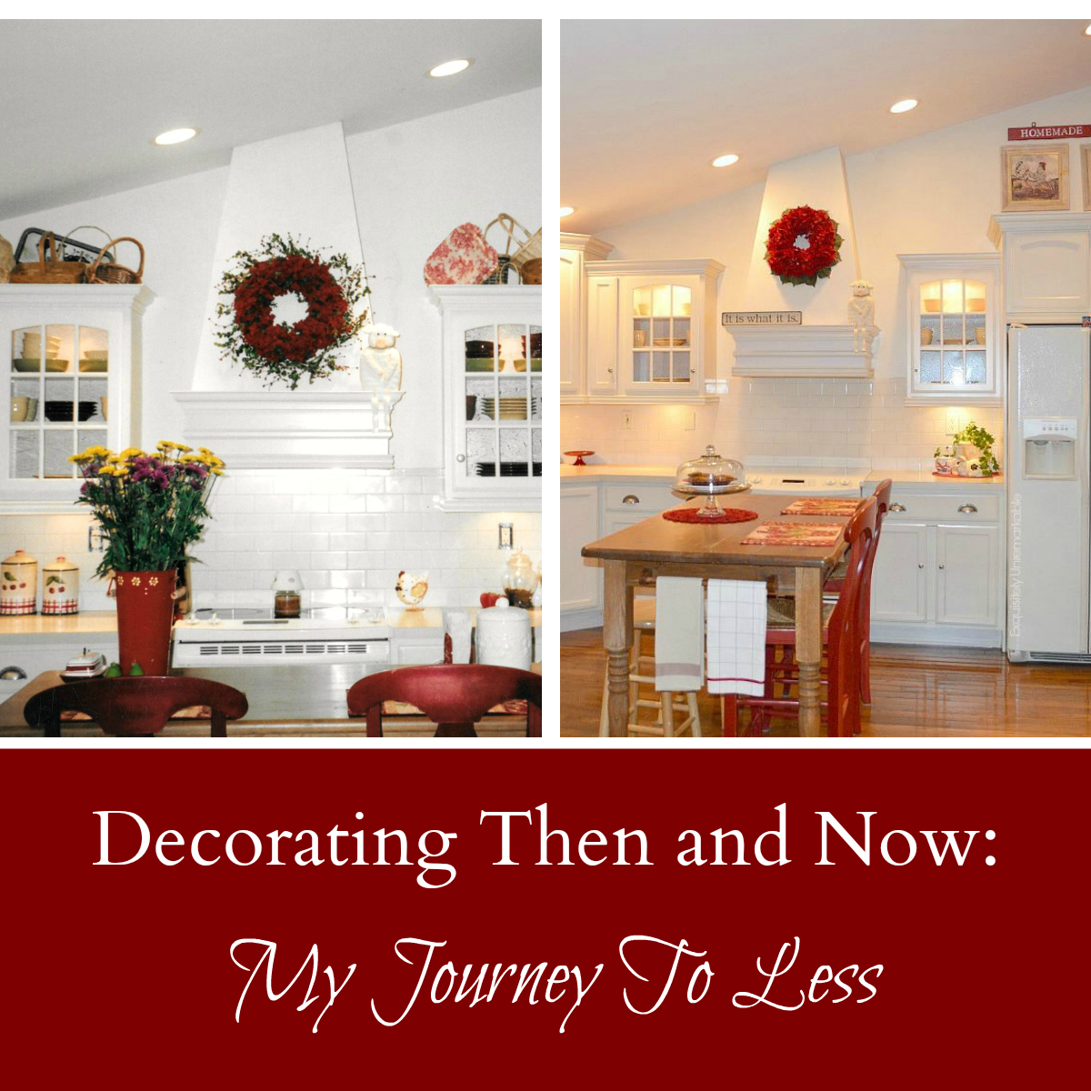 Decorating styles through the years.