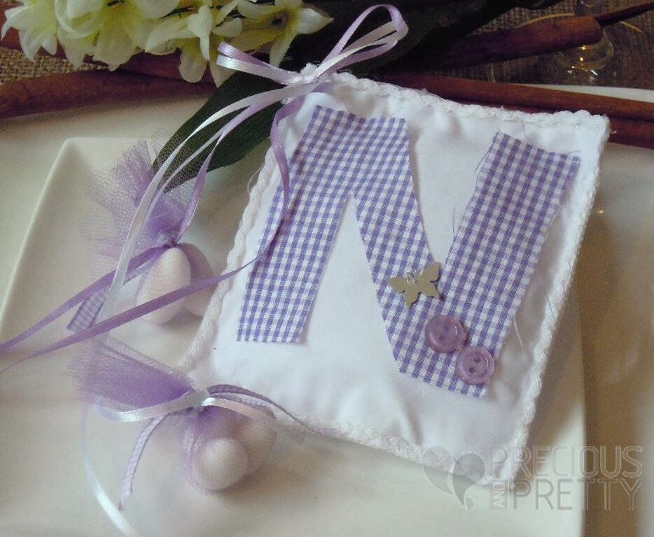 Greek christening favors for girl B027
