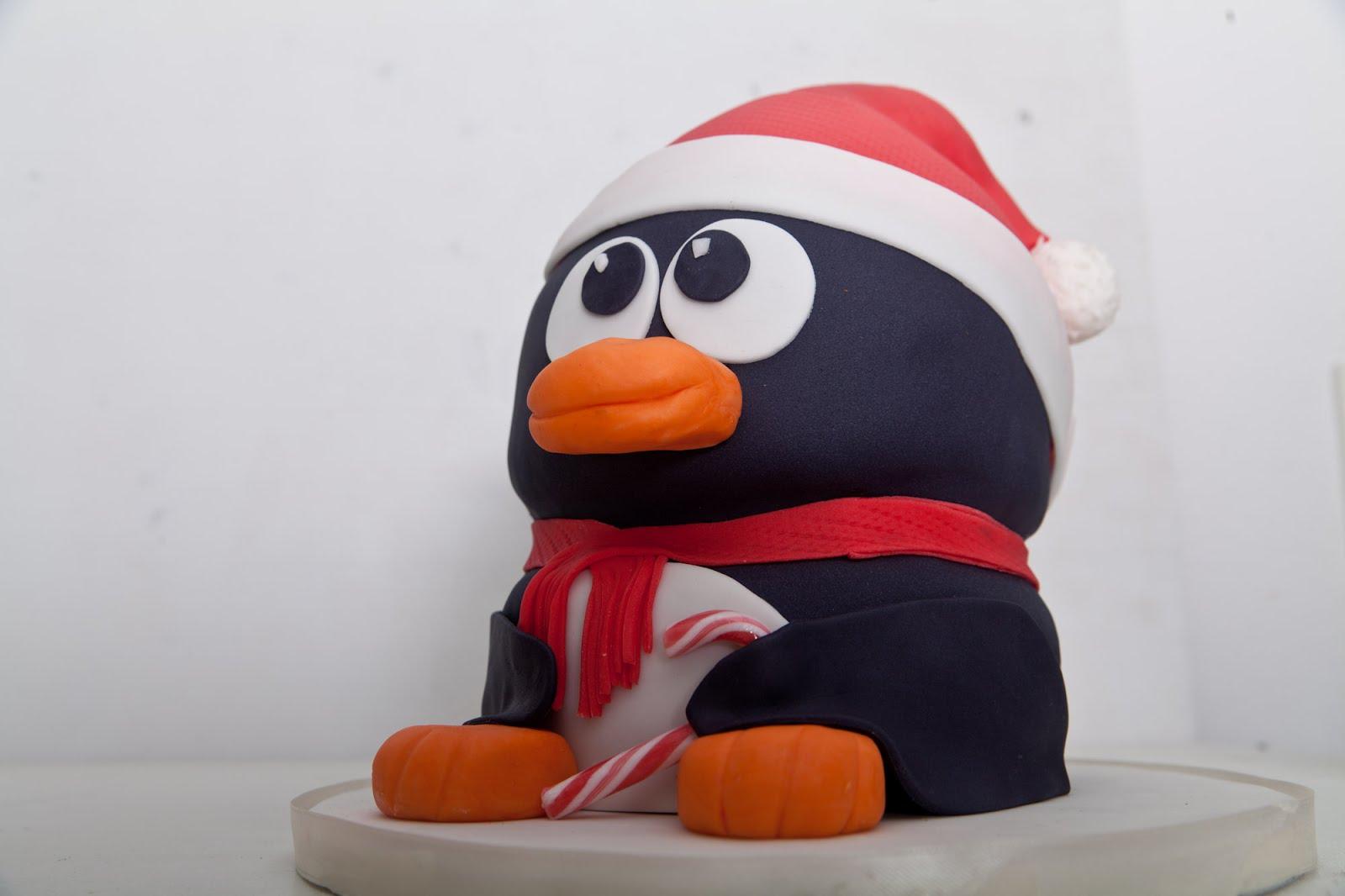Pinguin torte selber machen