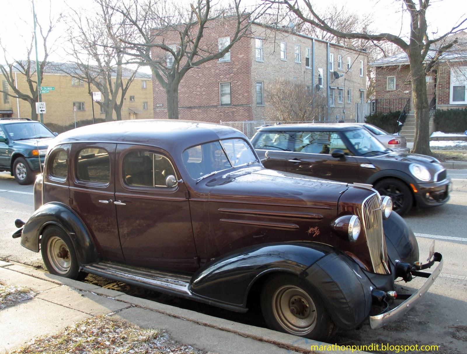 Marathon Pundit: (Photo) Classic car: 1936 Chevrolet Master Deluxe
