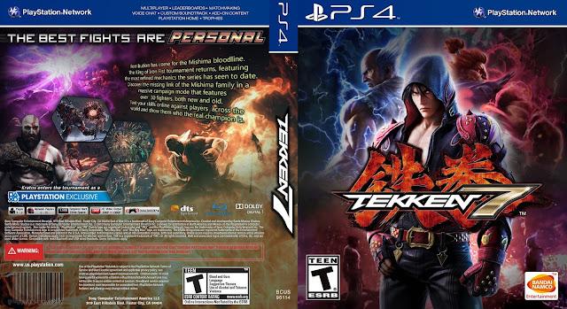 Capa Tekken 7 PS4