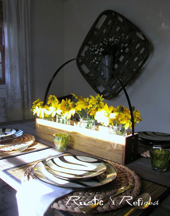 Quick and easy farmhouse table ideas