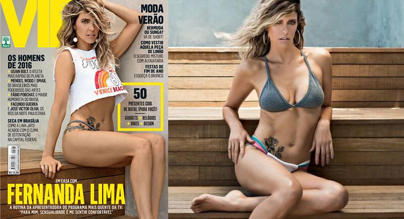 Revista VIP Dezembro – Fernanda Lima