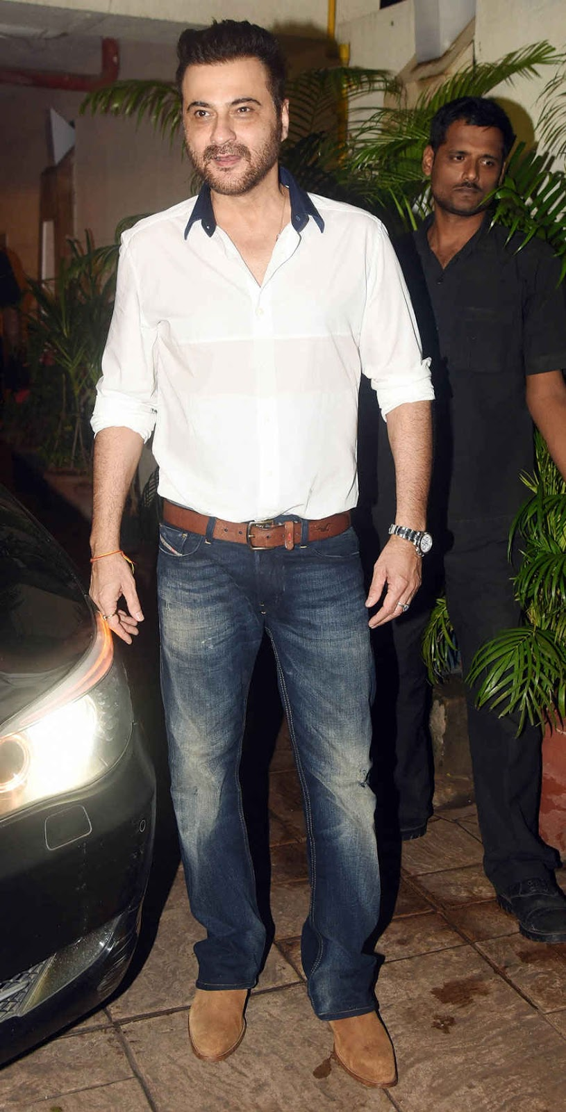 Bollywood Celebrities at Kareena Kapoor's Birthday Bash Stills