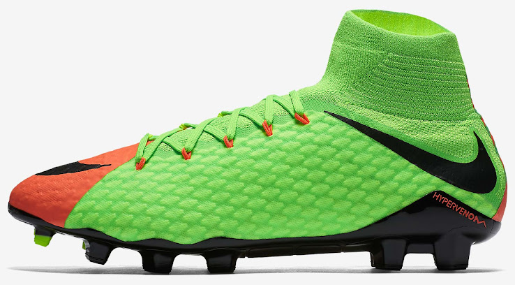 Nike Hypervenom Phantom III FG - Electric Green/Black/Hyper Orange