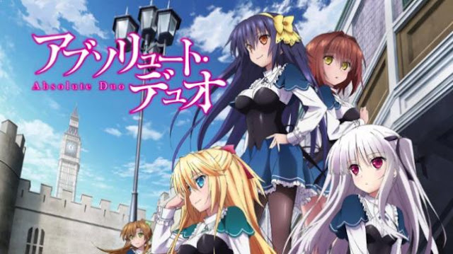 Anime Magic School Romance Terbaik - Absolute Duo
