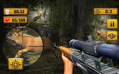 Wild Animal Shooting Game