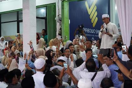 Dihadapan Habaib Dan Kyai Pasuruan, Sandi: Saya Kawal Ahlussunnah Wal Jamaah