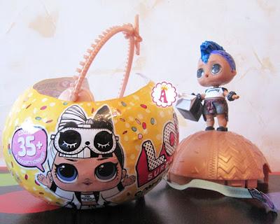 Лол Сюрприз 3 серия 2 волна шар с мальчиком Punk Boi L.O.L. Surprise Series 3
