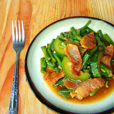 sitaw recipe, ginisang sitaw recipe, zucchini recipe, yard long beans recipe, easy lunch recipe, easy dinner recipe, easy vegetable recipe, sauteed vegetable recipe