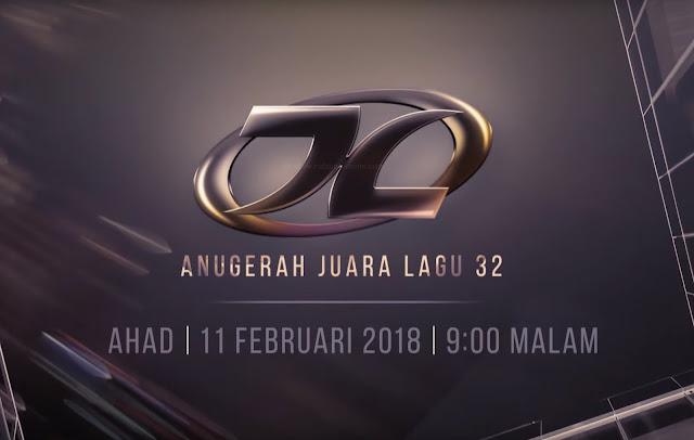 Live Streaming Anugerah Juara Lagu 32 (AJL32) 11.2.2018