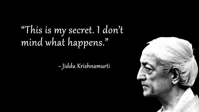 """Consapevolezza"" di Jiddu Krishnamurti"