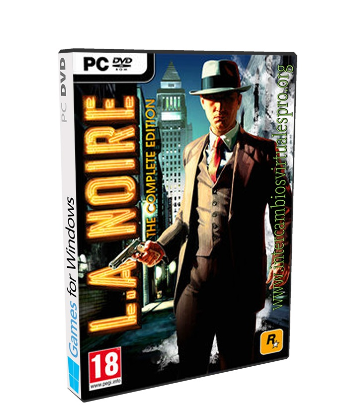 L.A.Noire Complete Edition poster box cover
